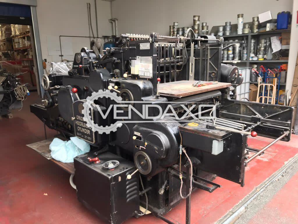 Heidelberg SBG Cylinder Die Punching Machine - 22 x 30 Inch