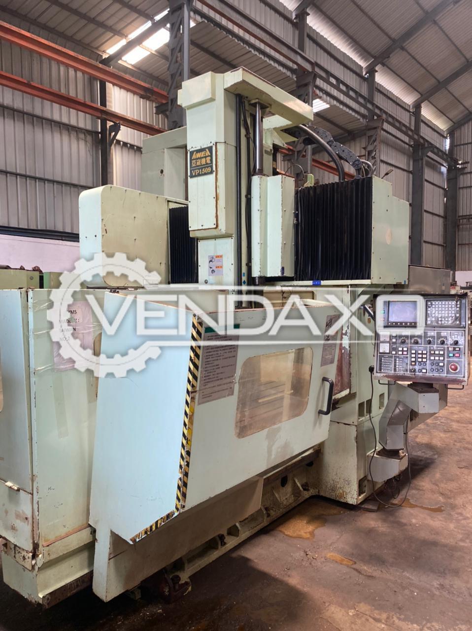AWEA VP-1509 CNC Double Column Vertical Machining Center VMC - 1500 x 1000 x 760 mm