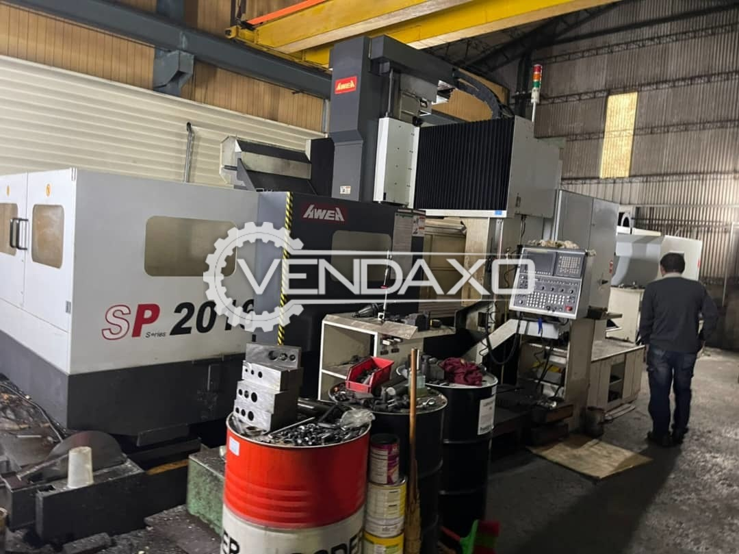 Awea SP 2016 CNC Vertical Machining Center - Table Size - 2300 x 1550 mm