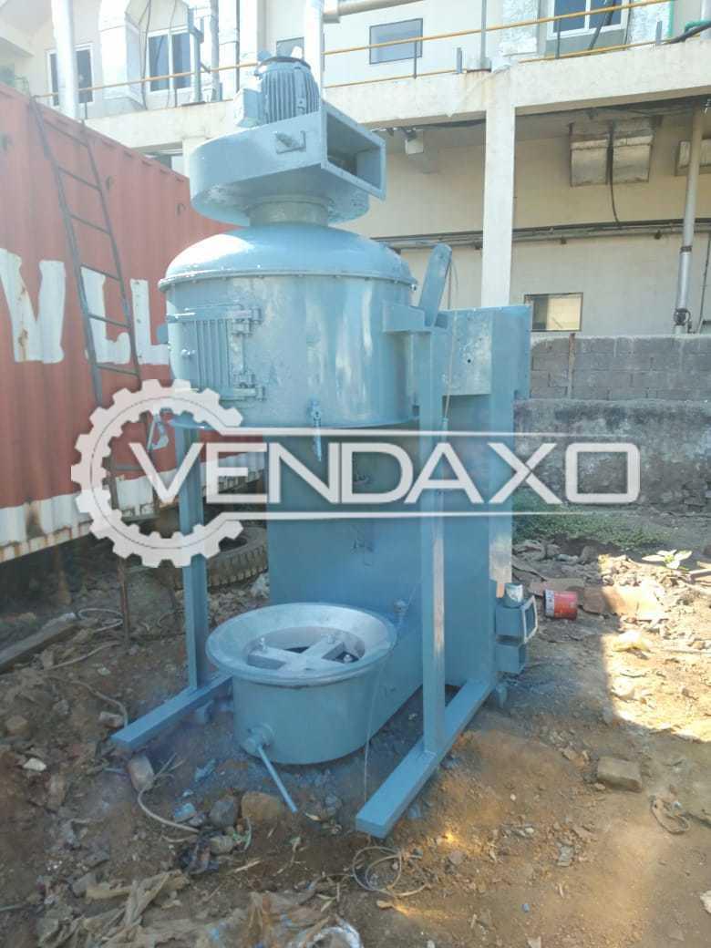 For Sale Used Fluid Bed Dryer (FBD) - 60 Kg