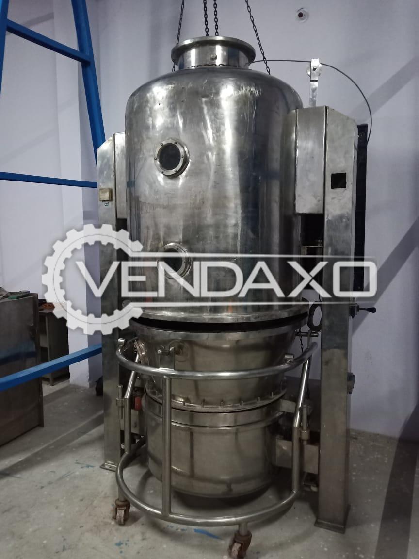 FAB Fluid Bed Dryer (FBD) - 60 Kg, GMP Model