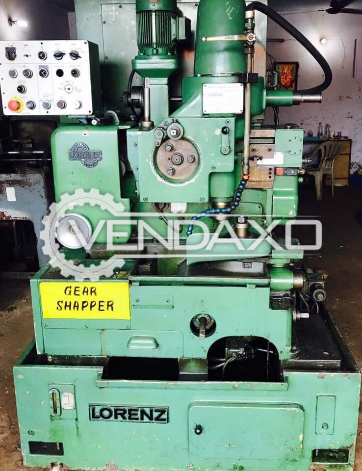 Lorenz Vertical Gear Shaper Machine