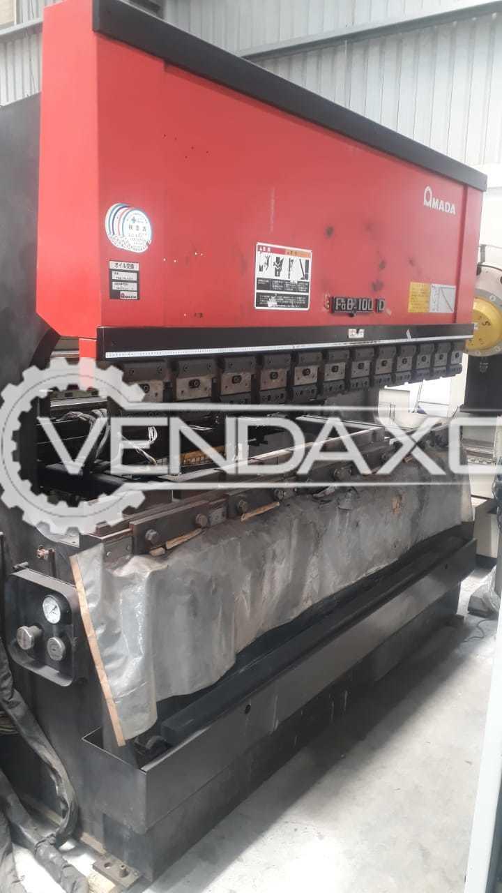 Amada NC CNC Bending Machine - 100 Ton