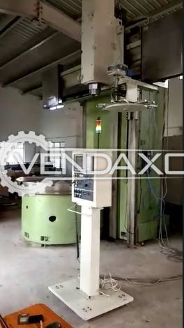 Schiess Froriep KE 16/1800 Single Column CNC Vertical Turret Lathe VTL - 1800 mm