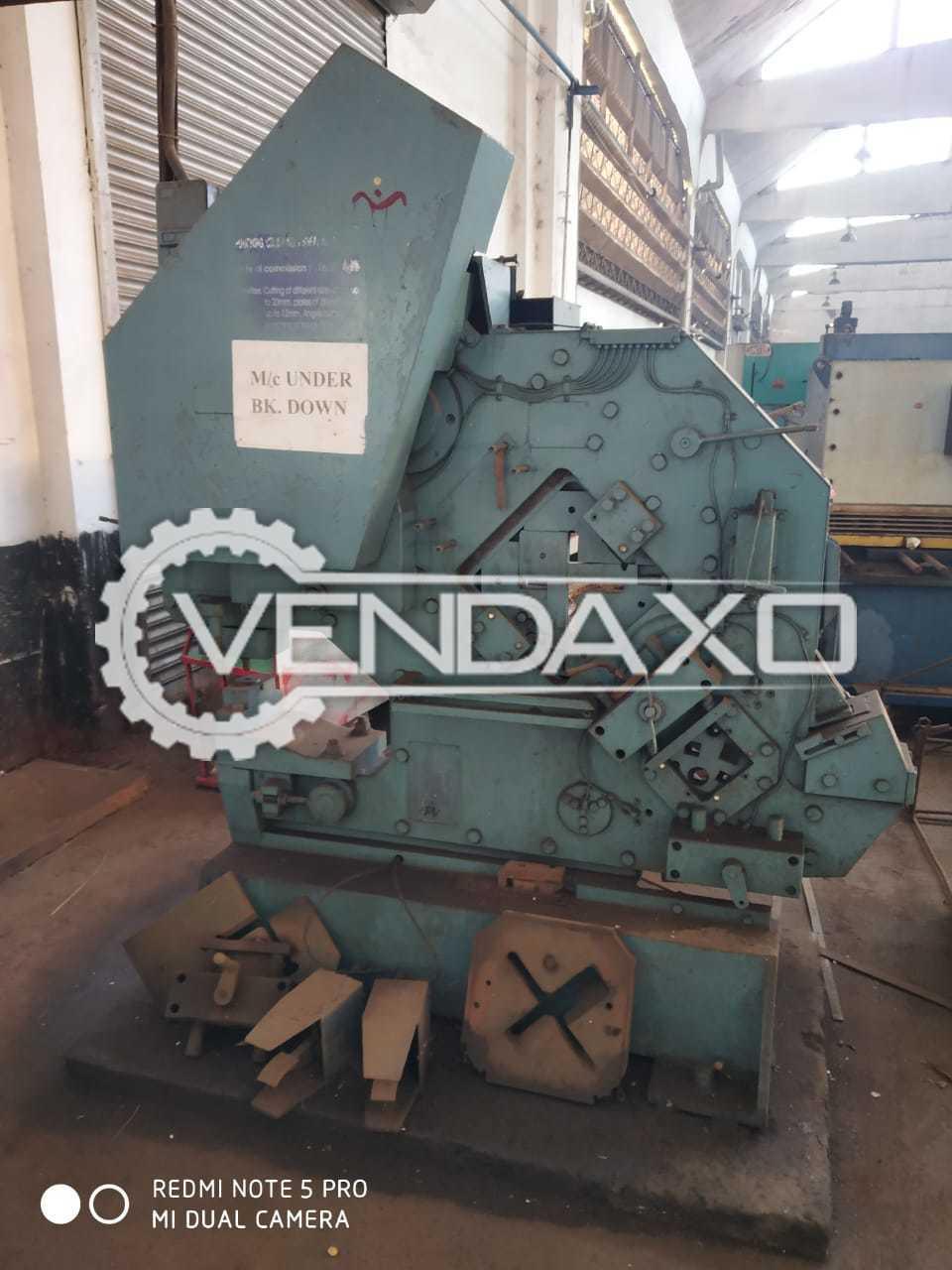 AMC Iron Worker Machine - 4 Inch