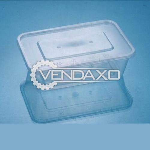 For Sale Used Rectangular Food Container - 650 ML