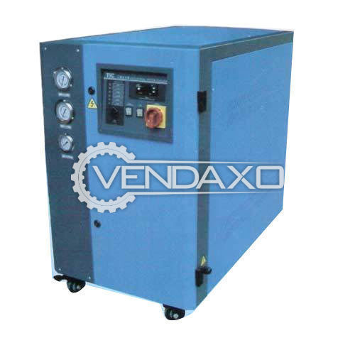For Sale Used Water Cooled Chiller - Semi Automatic