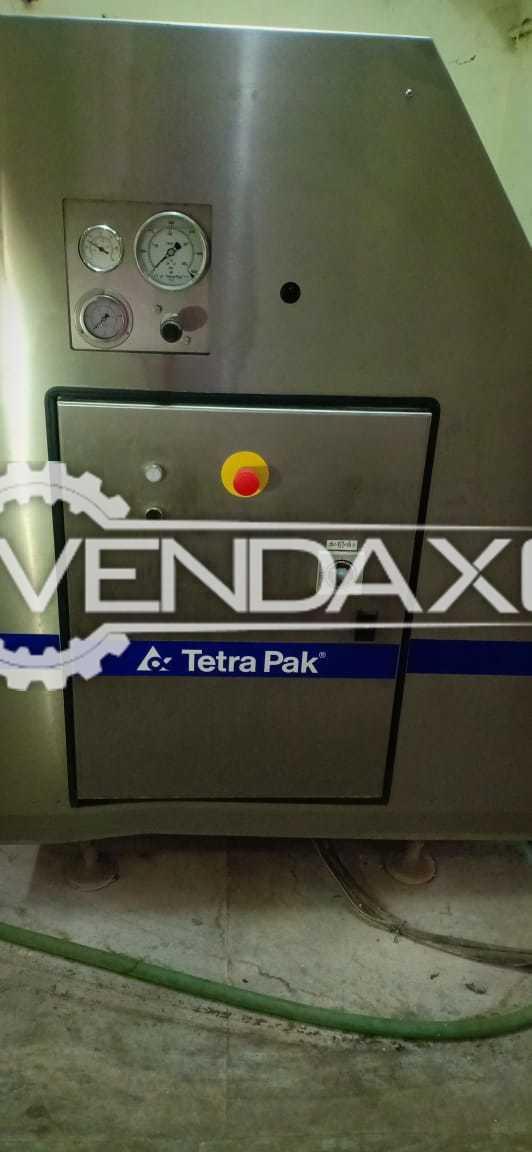 For Sale Used Tetra Pak Milk Homogenizer - 3000 LPH