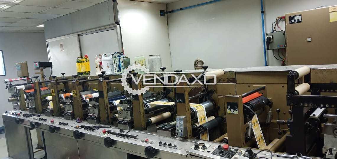 Aquaflex Flexo Printing Machine - 250 mm, 6 Color