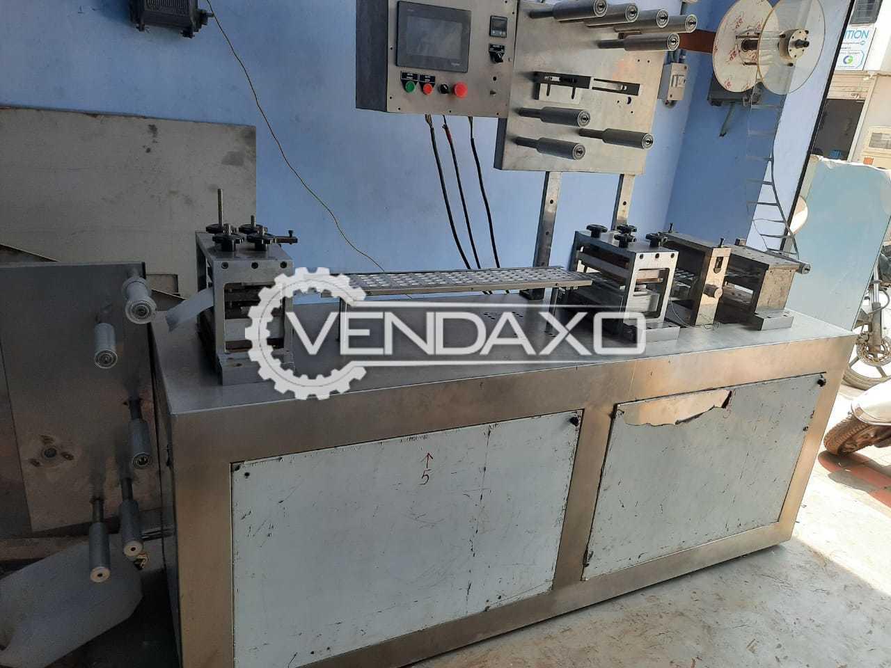 For Sale Used Mechanical PLC Base Machine - Single Track