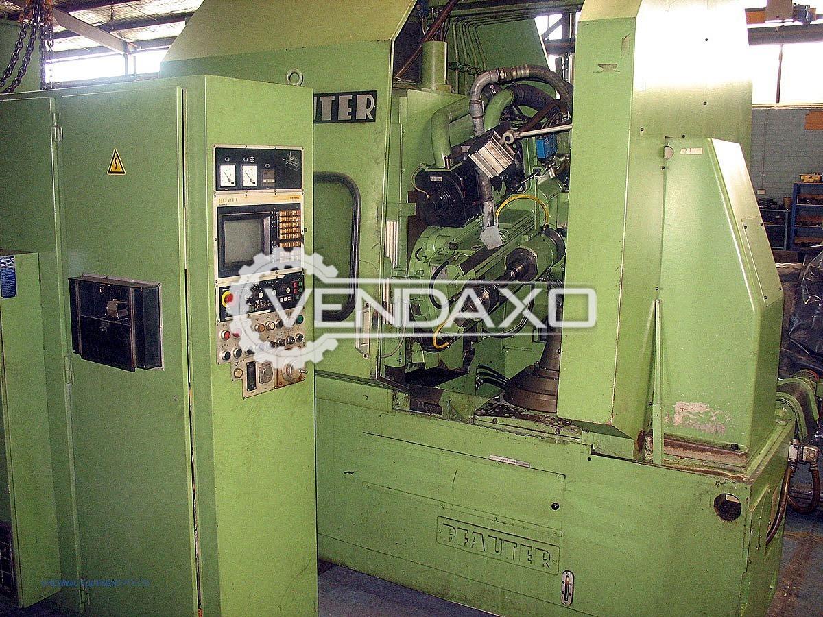 Pfauter PA320 CNC Gear Hobbing Machine - 230 mm