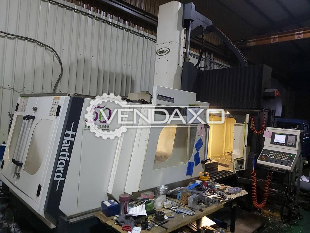 Hartford HSA-2212 Double Column CNC Vertical Machining Center - 2000 x 1100 mm