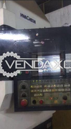 Hwacheon 550R CNC Vertical Machining Center VMC - Turning Diameter - 700 mm