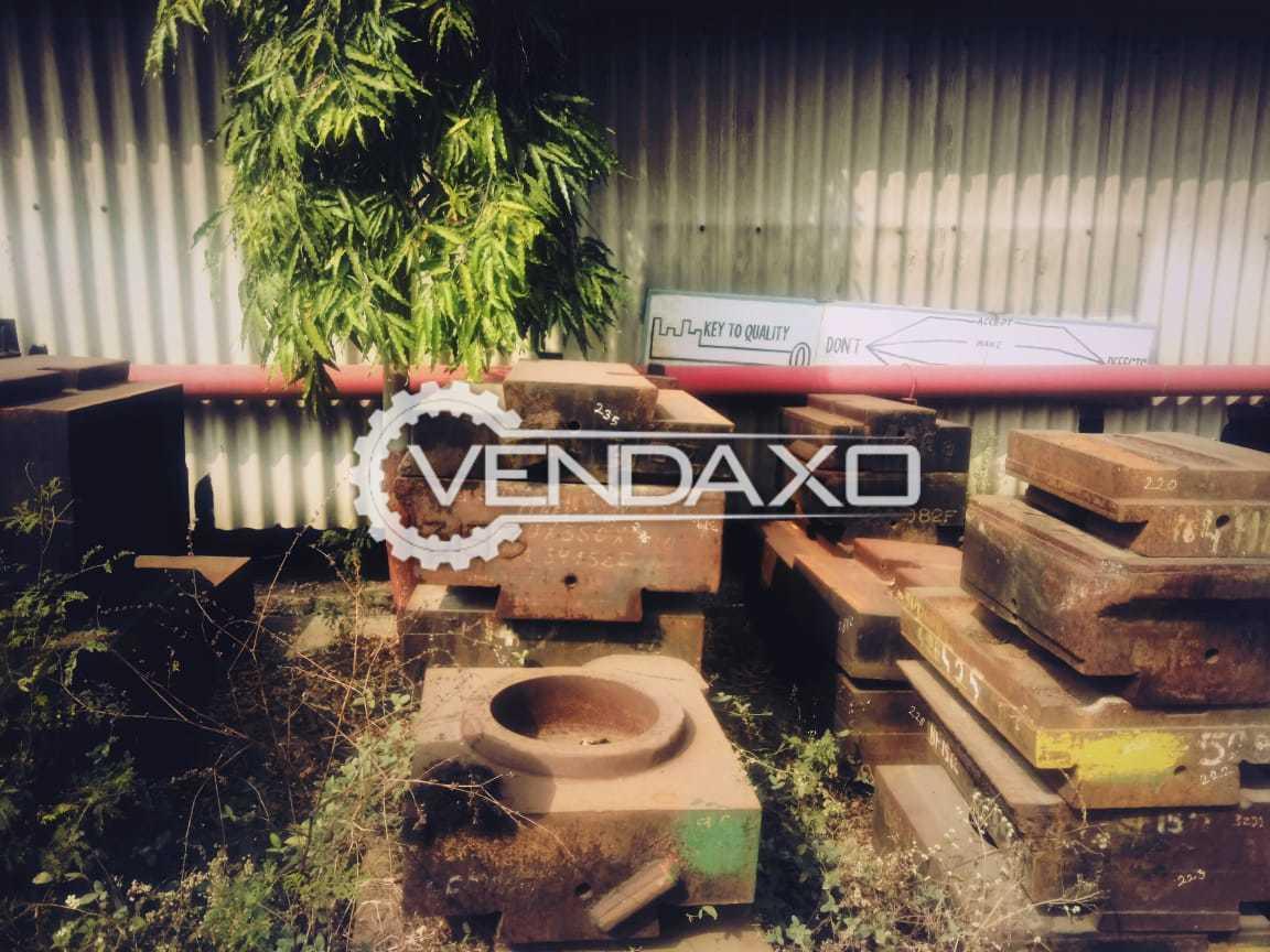 For Sale Used 4 Set OF Forging Die Blocks - 200 Ton