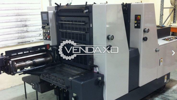 Shinohara 52IIP Offset Printing Machine - 15 X 20 Inch, 2 Color