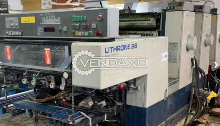 Komori Lithrone 426 Offset Printing Machine - 19 x 26 Inch, 4 Color