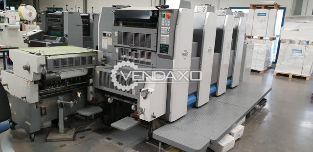 Ryobi 524 GX+NP Offset Printing Machine - 36 x 52 CM, 4 Color