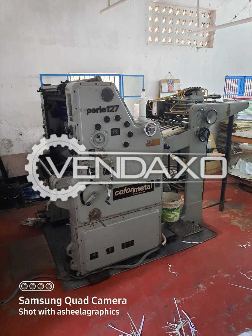 Colormetal Perle 127 Offset Printing Machine - 20 X 30 Inch, Single Color