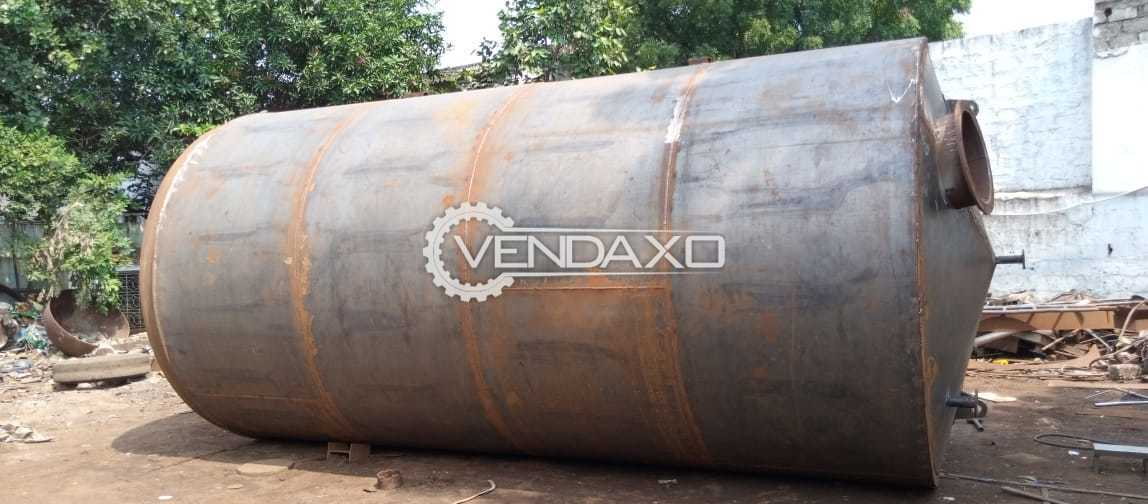 Vertical Storage Tank - 25 KL With MS Jacketed