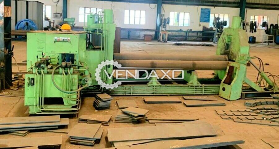 Hydraulic Plate Rolling Machine - 2.5 Meter x 16 mm