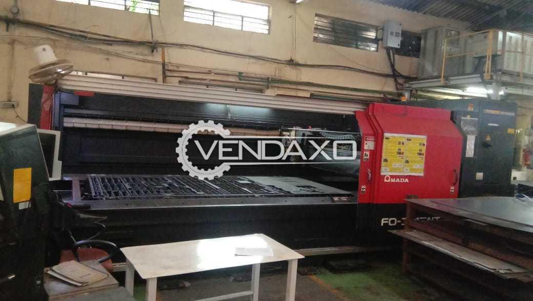 Amada CNC Laser Cutting Machine - Bed Size - 3 x 1.5 Meter