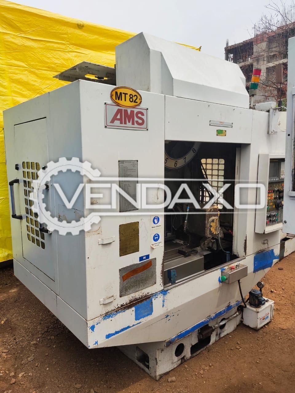 AMS Winner CNC Vertical Machining Center VMC - Table Size - 800 x 400 mm