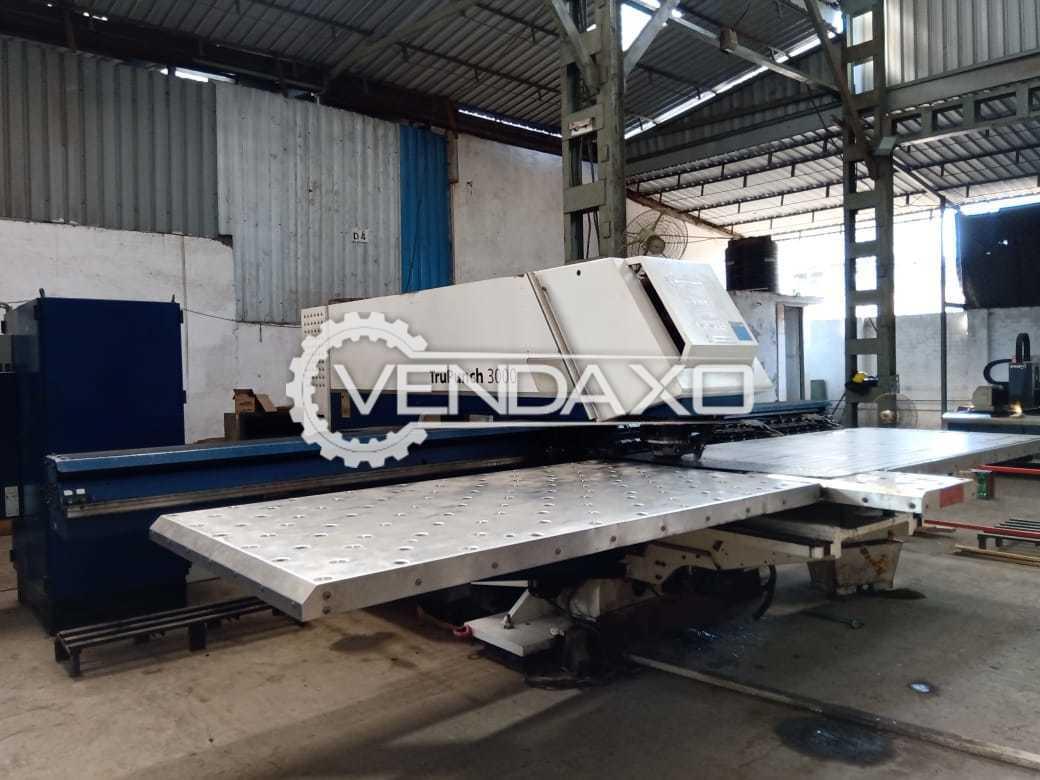 Trumpf TruPunch 3000 CNC Punching Machine - 180 KN