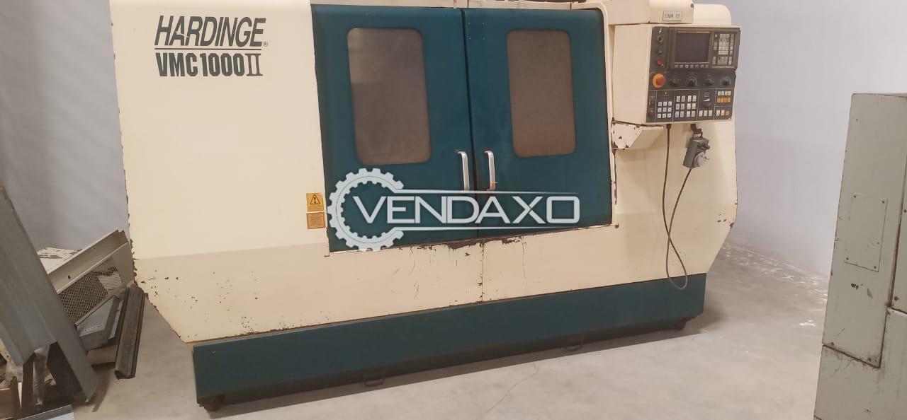 Hardinge VMC 1000II CNC Vertical Machining Center VMC - 1000 x 500 x 500 mm