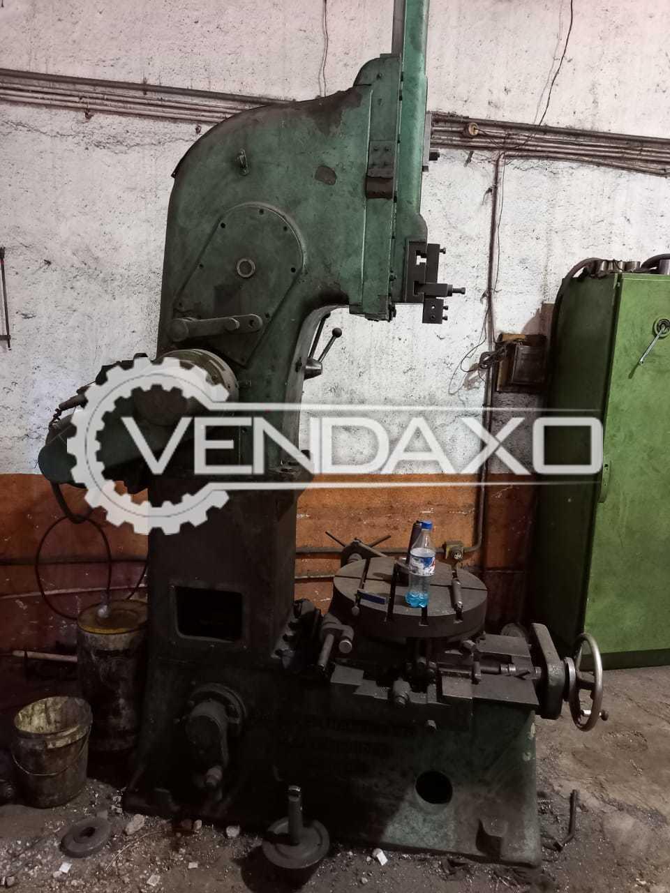 Ormerod Shaper Machine - Stroke - 3 to 8 Inch