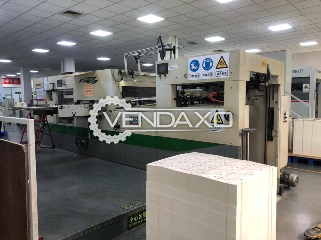BOBST Evoline SP102E Automatic Die Cutting Machine - 28 x 40 Inch