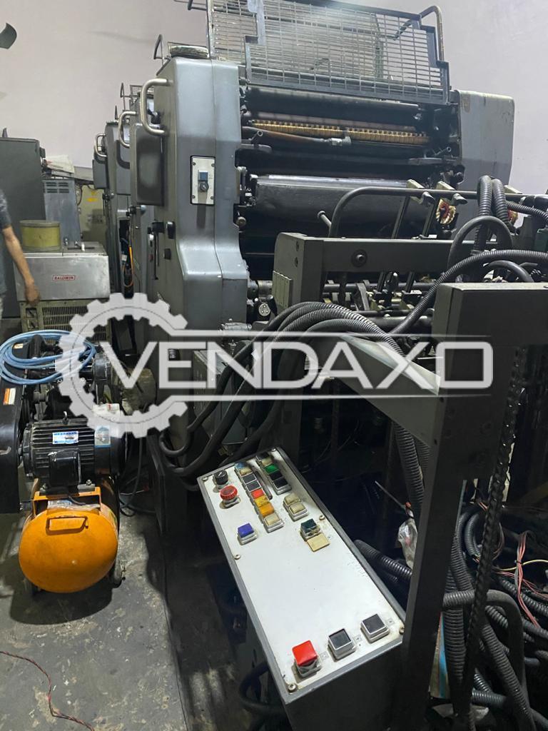 Heidelberg MOVS Offset Printing Machine - 65 x 48 CM, 4 Color