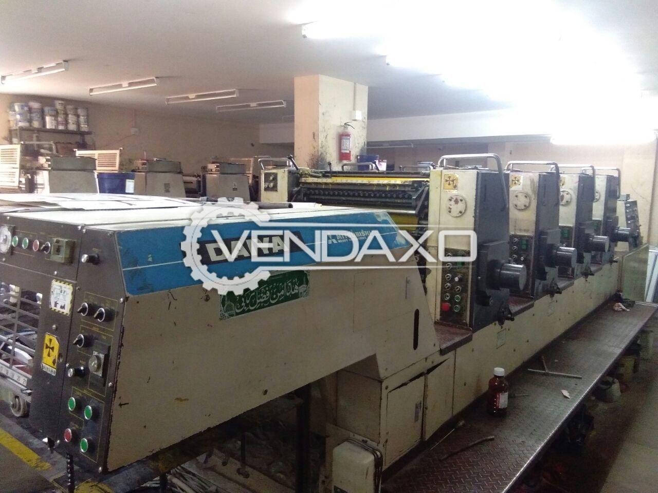 Mitsubishi 1988 Daiya Printing machine