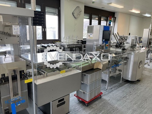 Buy New Ampoules and Vials Blister Packaging Line - 1 to 9 Format