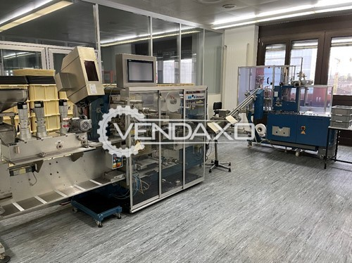 Buy New Solid Dose Blister and Packaging Line - Blister Size - 39 x 98 mm