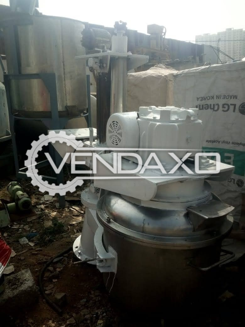 For Sale Used Planetary Mixer - 200 KG