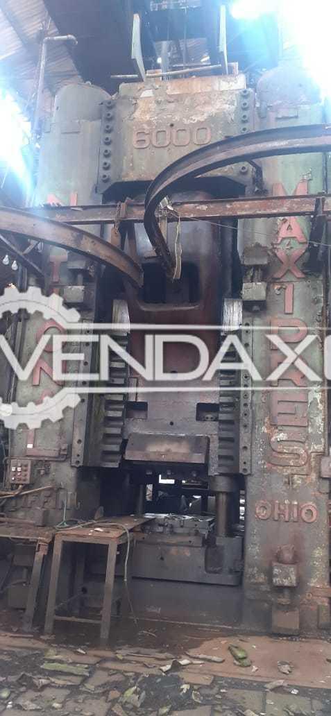 National Forging Press Machine - 6000 Ton