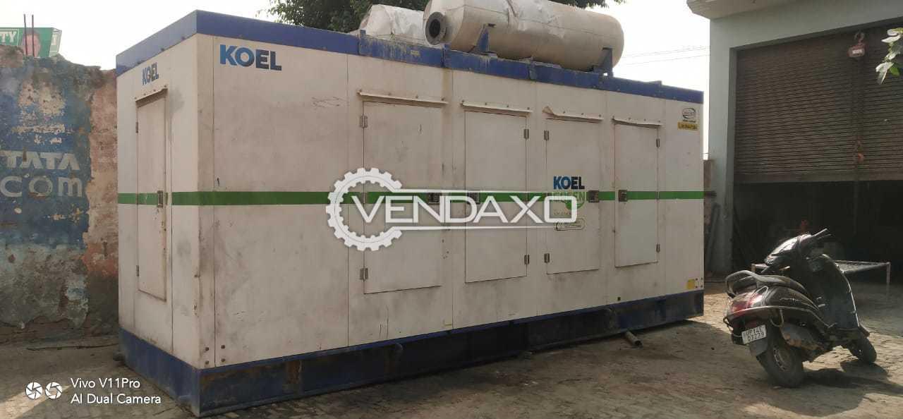 Kirloskar Diesel Generator - 500 Kva, 2018 Model