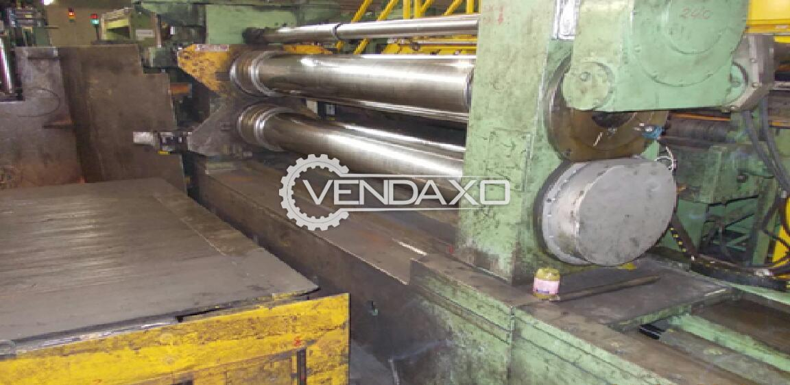For Sale Used Slitting Line - 2000 x 10 mm