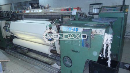 9 Set OF Picanol GTM AS Rapier Weaving Machine - 220 CM