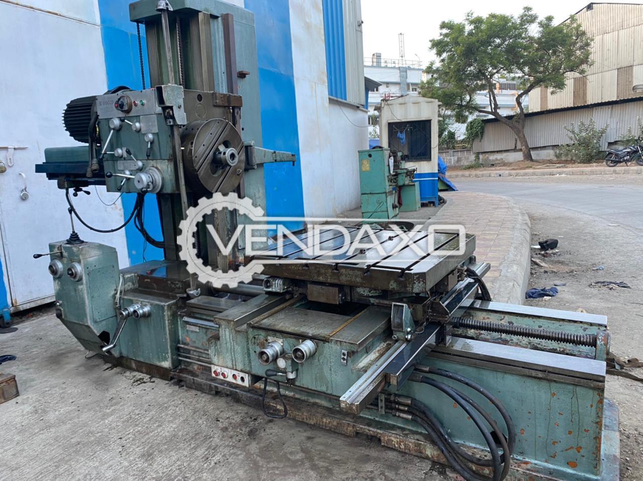 San Rocco Mec 3 Horizontal Boring Machine - Table Size - 920 x 920 mm