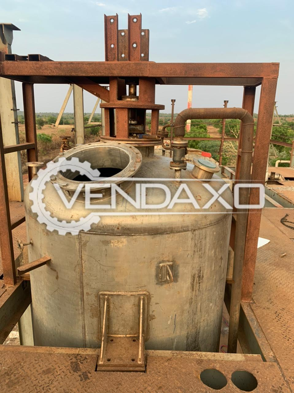 For Sale Used Reactor - 10 KL