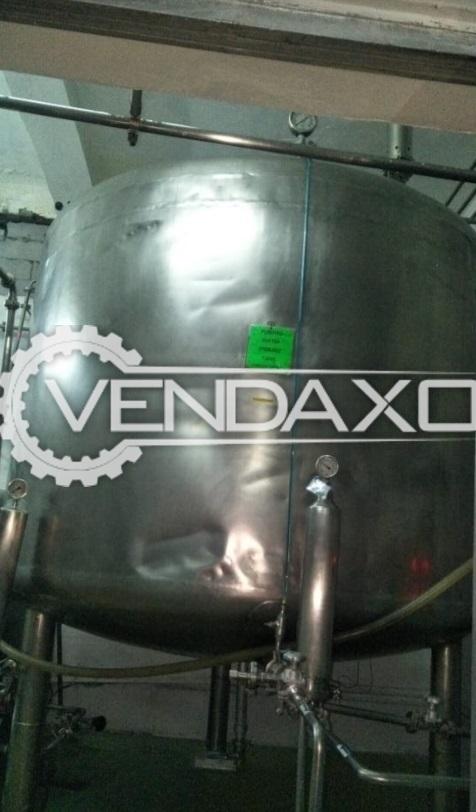 For Sale Used Storage Tank - 500 Liter
