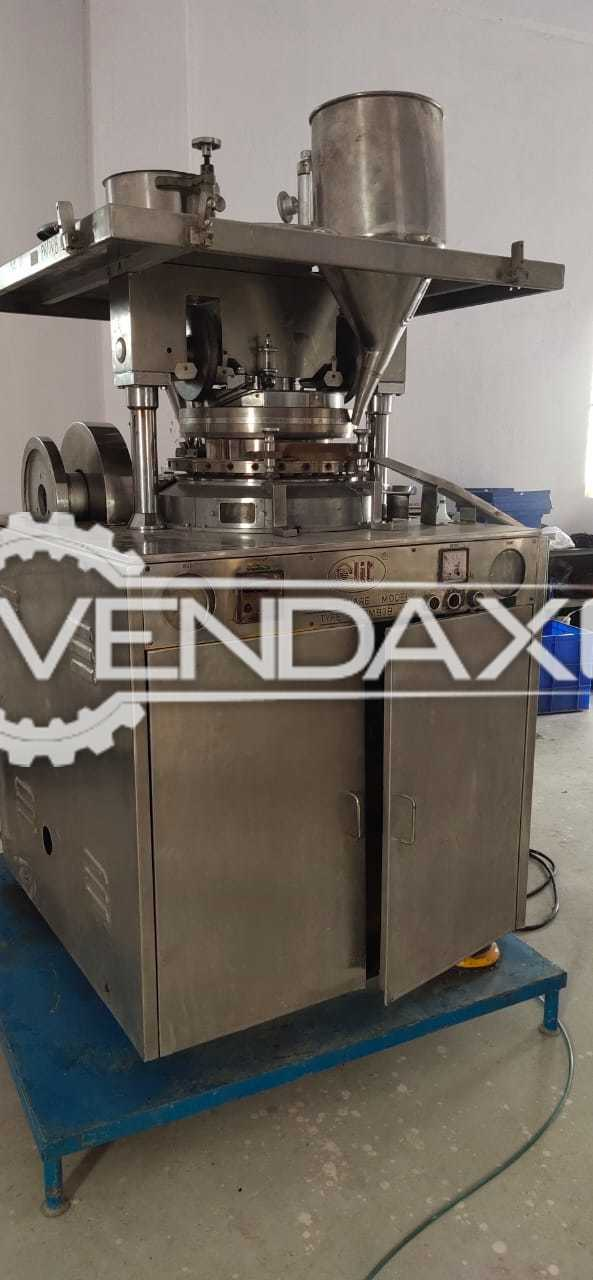 CLIT B Tooling Tablet Press Machine - 27 Station, GMP Model