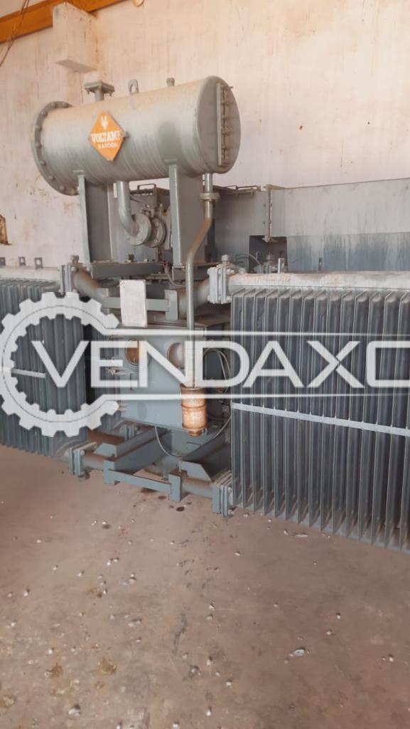 Voltamp Transformer - 1500 Kva, 1996 Model