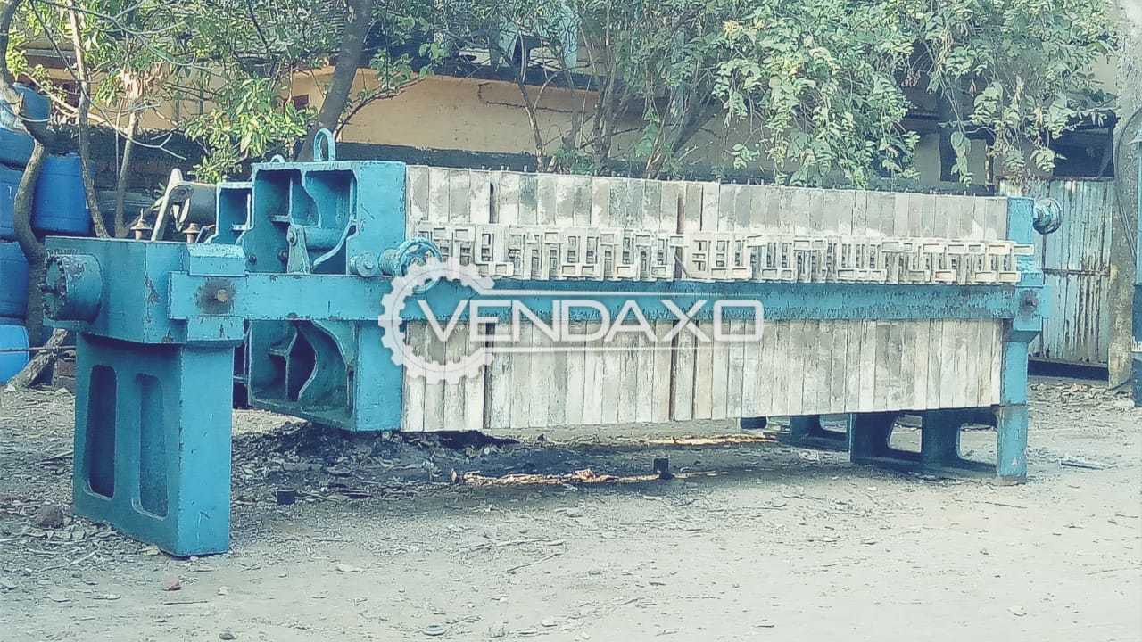 For Sale Used Hydraulic PP Filter Press - 36 Inch