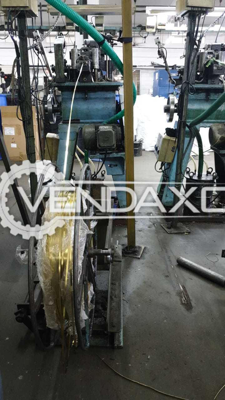For Sale Used CHN-MTL 012 Auto Metal Zipper Chain Making Machine - 3000 Meter
