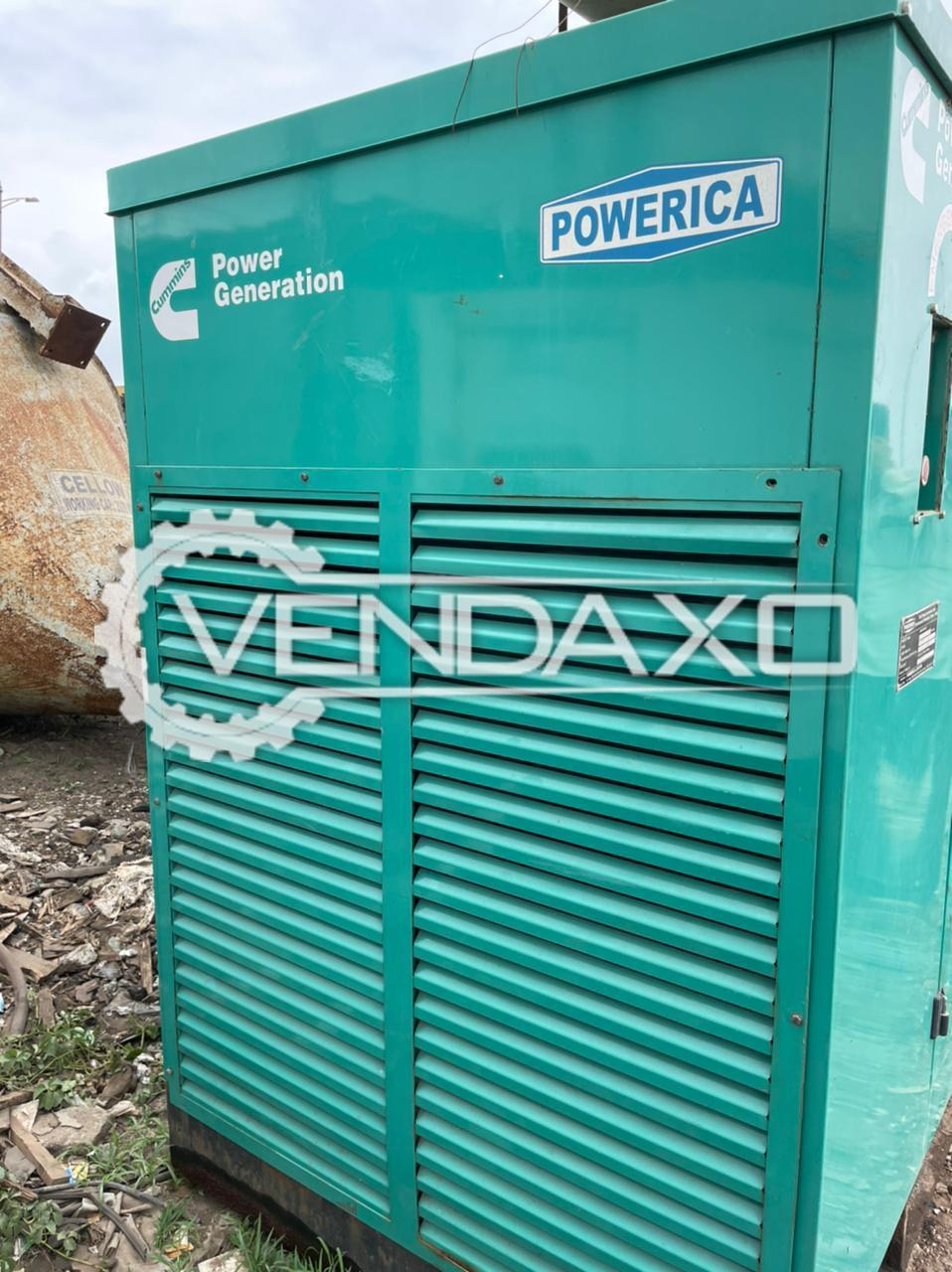 Cummins Powerica Diesel Generator - 125 Kva
