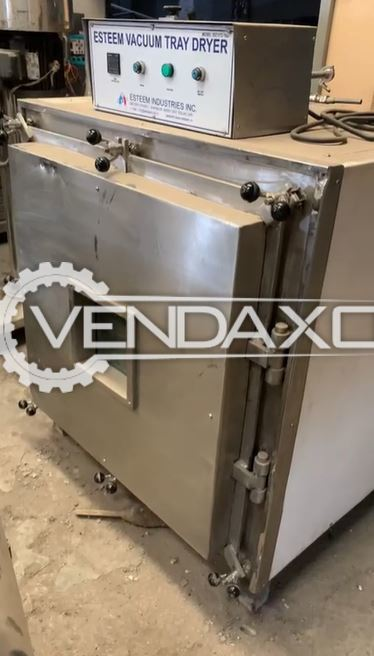 Esteem Vacuum Tray Dryer - 16 Tray