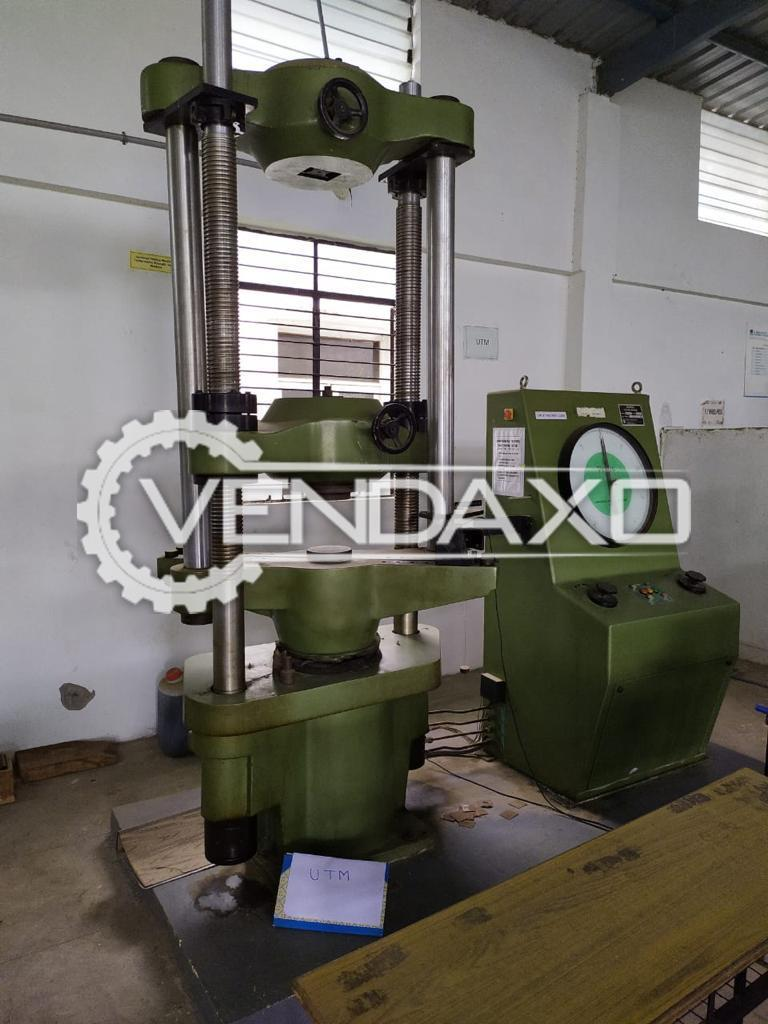 For Sale Used Universal Testing Machine UTM - 100 Ton