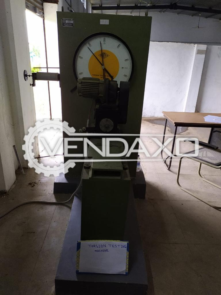 For Sale Used Torsion Testing Machine